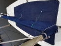 Polyester open zeilboot Flytour