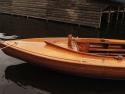 Open zeilboten 16m2 mahonie open zeilboot