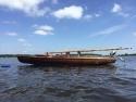 16m2 mahonie open zeilboot